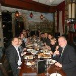 Windsor Club staff at Mazaar Restaurant