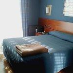 Zimmer 4.Etage, Bett
