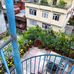 Hotel Karma view from balcony.