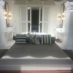 Larkhill terrace suite.