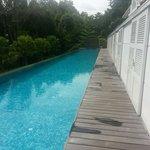 Larkhill terrace suite. The private pool.