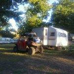 outside of trailer
