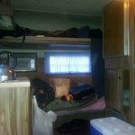 inside trailer