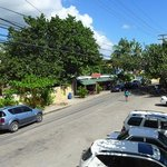 View to the main street of Juan Dolio