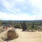 View from Chateauneuf du Pape