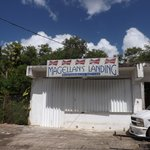 """Appropritely named, this used to be a """"watering hole"""" on Umatac area."""