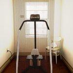 Oh so MIA, cardio equipment on every hallway