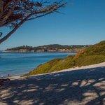 Carmel Bay and Beach just a short walk from inn.