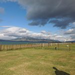 Vista del Hotel a la Patagonia