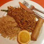 Chicken Lo Mein-lunch