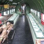 Inside Dakota transporter plane