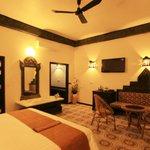 each suite room feature a complete khmer art decor