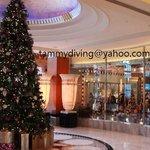 lobby, Christmas 2013