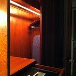 Safe in the wardrobe