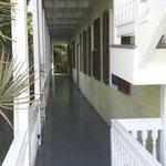 Porch pathway