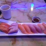 Part of the Sushi and Sashimi combo