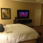 Bed and TV