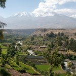 Arequipa with Misti Volcano in background