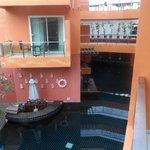 Bar in pool
