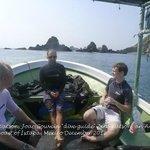 Dive Zihua's boat