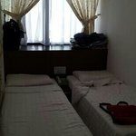 small rooms but very clean and comfortable