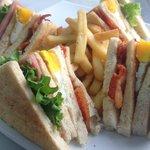 Nuestro Club Sandwich /  Our Club Sandwich
