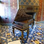 old piano in Blois chateau