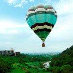 Hot air balloon in Hotel Royal Chiao Hsi 2012