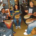 Drumming circle every Wednesday
