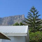 blick auf den Tafelberg vom Hotel aus