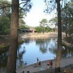 La Pinara, zona de baño natural