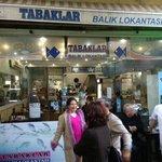 Tabaklar fish restaurant in old bazaar-Kemeralti, Izmir, Turkey