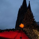 The Dom looks over the Xmas Market