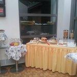 buffet colazione dolce e salato