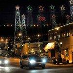 Christmas lights of Kilgore