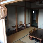 View of the Japanese-style room