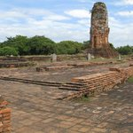 "Remains of ""Temple"" Behind Buddha"