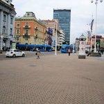 Praça principal da cidade