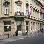 Prédio característico do centro histórico
