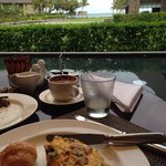 sanasana restaurant buffet breakfast