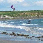 Kitesurfing at Cranfield