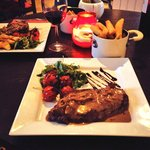 Two Steaks & a Bottle of Wine - £30