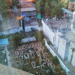 Grave yard view!!!