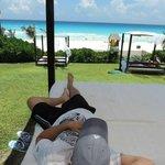Descanso á beira praia, perfeito