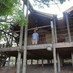 The Luxury Tent on stilts