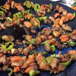 Lamb and peppers
