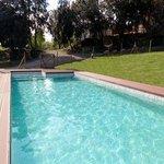 Zona de piscina, protegida para la seguridad de los más peques