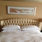 King bed. Grand Lake View Suite
