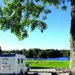 Hardstanding waterfront tourer/motorhome pitch
