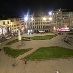 View of the piazza.